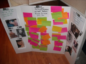 story board for Out of the Darkness