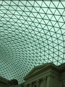 The British Museum always makes me think of Harrison Ford. Another thing to be thankful for.