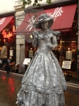 8 Living Statues in Covent Garden