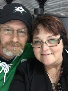 No multi-tasking here. DH and I enjoyed the Dallas Stars win last weekend.